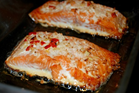 Coconut and Lime Salmon