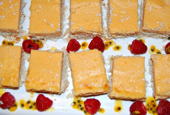Lemon And Coconut Bars