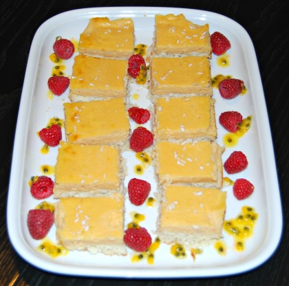 Healthy Lemon And Coconut Bars