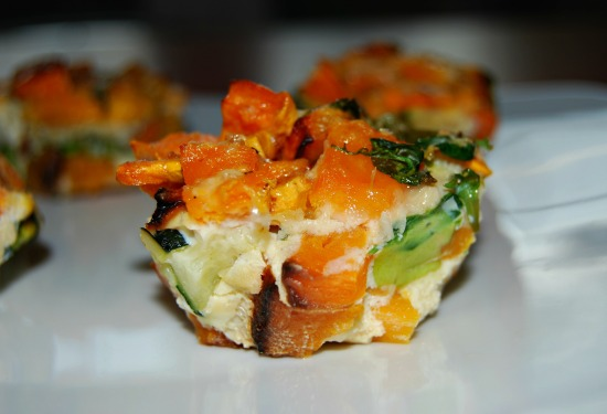 Healthy Vegetable Frittata Muffins
