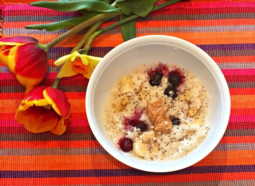 Delicious Alchemy Rice Flake Porridge