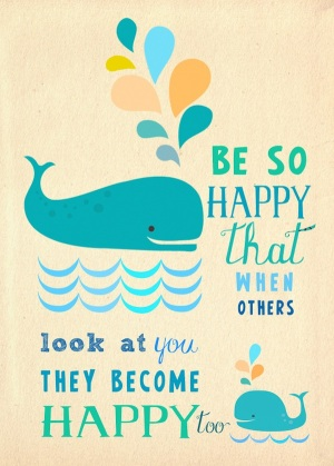IBS Stress Happy quote